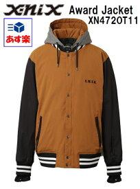 '15x-nixエクスニクス メンズ レディース スノーボードウェア「Award Jacketアワードジャケット/キャメル」XN472OT11