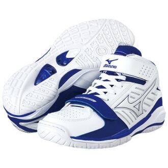 """美津浓美津浓篮球鞋""""波现实GRASP/白×蓝色""""13KL-23022"""