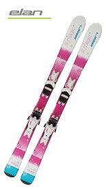 '19エランELANジュニアガールズ用スキー2点セット「LIL MAGIC」(110cm〜140cm)