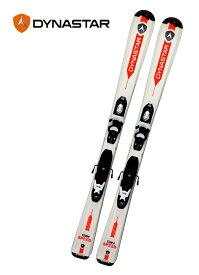 18ディナスタージュニア用スキー2点セット「TEAM SPEED 120-130cm」(ホワイト)+金具KID-X