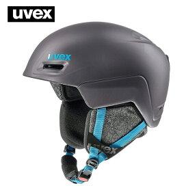 18-19ウベックス(UVEX)レディーススキーヘルメット「jimm」チタンぺトロールマット(55〜59cm)