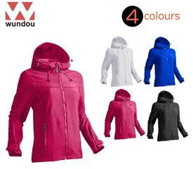 ウンドウ(wundou)女性用「ウィメンズアウトドアパーカージャケット」P4220(XS〜XL)WOMEN'Sレディース