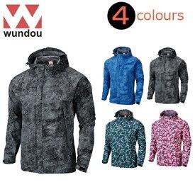 ウンドウ(wundou)大人用「アウトドアウインドブレーカージャケット」P4610(XS〜XXL)メンズ男性用UNISEX