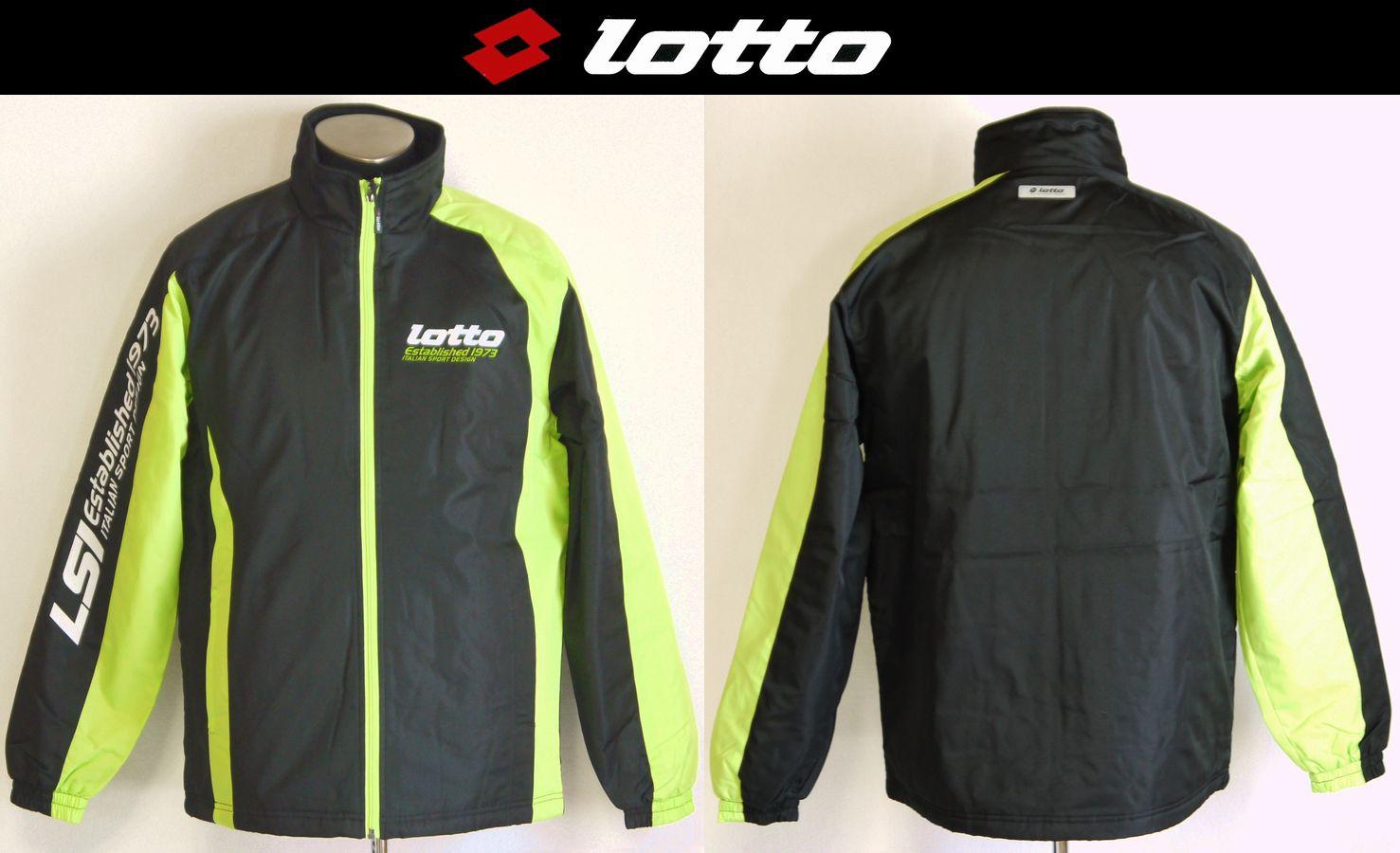 【SALE】【lotto/ロット】メンズ 中綿ジャケット 撥水加工 -全1色-【送料無料!!】ジョギング ウォーキング 雪かき 冬のスポーツ【メール便不可】
