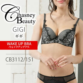 チェスニービューティ Chasney Beauty ギギ GIGI ウェイクアップブラ WAKE UP BRA ブラジャー 3/4カップブラ 育乳ブラ 育乳 2017AW CB3112/151 【送料無料】