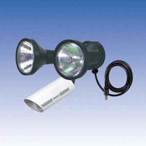 新 人感ライト 音感ライト センサーライト 立体検知型 15m用 2灯用【LC-302WA】TAKEX/竹中エンジニアリング