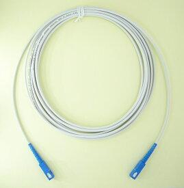 曲げに強い! 長尺 光ケーブル 耐圧 宅内配線 SCコネクタ 3m 【FSC-3M】 FTNET