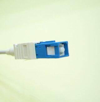 曲げに強い耐圧光ケーブル光延長ケーブルSCコネクタ1m【FSC-1M】FTNET