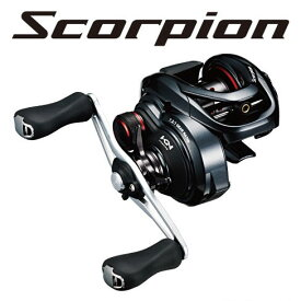 シマノ(Shimano) NEWスコーピオン (Scorpion) 71HG LEFT /バス ベイトリール 左ハンドル 【キャッシュレス5%還元対象】