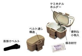 明邦 ベイトクーラー No.204 グレー 【釣具 釣り具】
