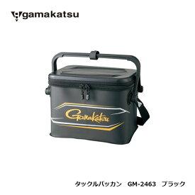がまかつ GM-2463 タックルバッカン ブラック 【釣具 釣り具 お買い物マラソン】