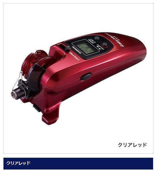 シマノ(Shimano) レイクマスターCT-T クリアレッド【ワカサギ】 /わかさぎ釣り 小型電動リール
