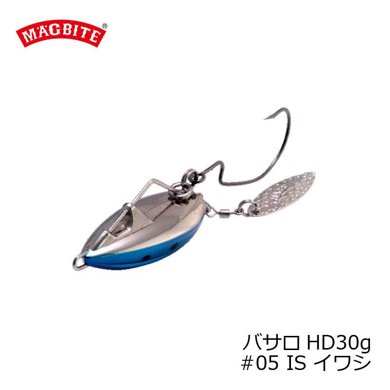 マグバイト MBL05 スイミングリグ バサロ HD 30g 05 イワシ