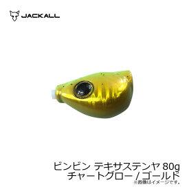 ジャッカル(Jackall) ビンビン テキサステンヤ 80g チャートグロー/ゴールド 【キャッシュレス5%還元対象】