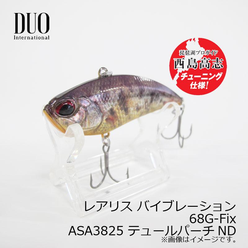 デュオ レアリス バイブレーション68G-Fix ASA3825 テュールバーチND /バスルアー バイブレーション 琵琶湖 北湖 ガイド 西島高志