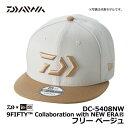 ダイワ(Daiwa) DC-5408NW 9FIFTY Collaboration with NEW ERA フリー ベージュ / ニューエラ キャップ コラボ 【キ…