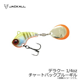 ジャッカル(Jackall) デラクー 1/4oz チャートバックブルーギル 【釣具 釣り具】