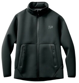 ダイワ(Daiwa) DJ-2707 ウィンドブロック フルジップパーカ ブラック L