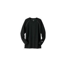 ダイワ(Daiwa) DU-3507S ブレスマジック ウール クルーネックシャツ(厚手) ブラック M
