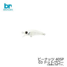 ブリーデン ビーナッツ 13-NUT 40SP 03 ドットグロー 【お買い物マラソン ポイント最大44倍】
