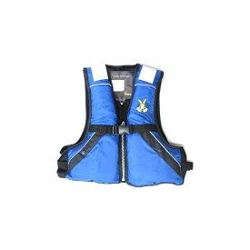 ジェネシス FV-1007 ジュニア用フローティングベスト L ブルー / ライフベスト 子供用 【釣具 釣り具】