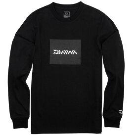 ダイワ(Daiwa) DE-80009 BOXロゴ ロングスリーブTシャツ ブラック L 【6/30迄 キャッシュレス5%還元対象】