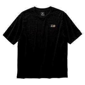 ダイワ(Daiwa) DE-84009 ショートスリーブビッグシルエットTシャツ ブラック M 【6/30迄 キャッシュレス5%還元対象】
