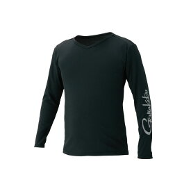 がまかつ GM-3552 NO FLY ZONE (R) ロングスリーブTシャツ ブラック M / 防虫 UVカット 夏物 レイヤリング 【釣具 釣り具】