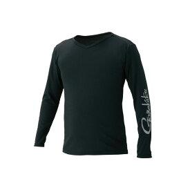 がまかつ GM-3552 NO FLY ZONE (R) ロングスリーブTシャツ ブラック LL / 防虫 UVカット 夏物 レイヤリング 【釣具 釣り具 お買い物マラソン】