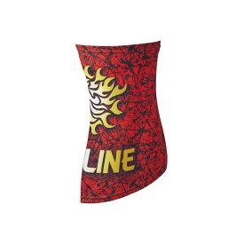サンライン(Sunline) SUW-0910 クールネック レッド 【キャッシュレス5%還元対象】