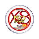 デュエル ハードコアX8 PRO タイラバ 300m 0.8号 / PEライン 真鯛 タイラバ 8本撚り マーキング 【6/30迄 キャッシ…