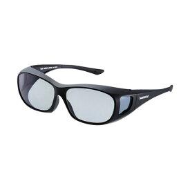 シマノ(Shimano) UJ-201S シマノオーバーグラス グレーxブラック / 偏光グラス サングラス メガネの上から 【お買い物マラソン ポイント最大44倍】