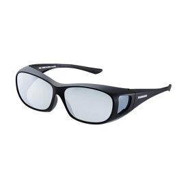 シマノ(Shimano) UJ-201S シマノオーバーグラス グレーミラーxブラック / 偏光グラス サングラス メガネの上から 【お買い物マラソン ポイント最大44倍】