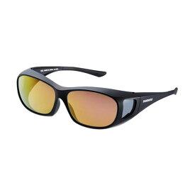 シマノ(Shimano) UJ-201S シマノオーバーグラス ブラウンピンクゴールドミラーxブラック / 偏光グラス サングラス メガネの上から 【お買い物マラソン ポイント最大44倍】