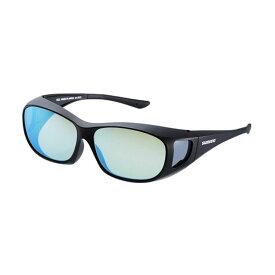 シマノ(Shimano) UJ-201S シマノオーバーグラス イエローブルーミラーxブラック / 偏光グラス サングラス メガネの上から 【お買い物マラソン ポイント最大44倍】