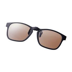 シマノ(Shimano) UJ-401S シマノクリップオン ブラウンxブラック / 偏光グラス サングラス メガネの上から 【お買い物マラソン ポイント最大44倍】