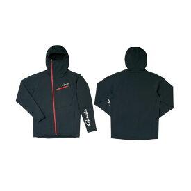 がまかつ GM-3566 フーデッドジップシャツ ブラック LL / 釣り 長袖シャツ フード付き GAMAKATSU 【釣具 釣り具】