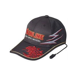 サンライン(Sunline) CP-3388 ツアーキャップ VI レッド フリー / 釣り 帽子 SUNLINE キャップキーパー付き 【キャッシュレス5%還元対象】