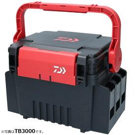 ダイワ(Daiwa) タックルボックス TB3000 ブラック/レッド / DAIWA タックルケース