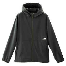 ダイワ(Daiwa) DJ-93009 ストレッチ フルジップフーディー ブラック M / 防寒ウェア 防寒ジャケット