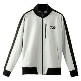 ダイワ(Daiwa) DE-84009J トラックジャケット クールグレー M / 防寒ウェア 防寒ジャケット 【お買い物マラソン 釣具のFTO/フィッシング タックル オンライン】