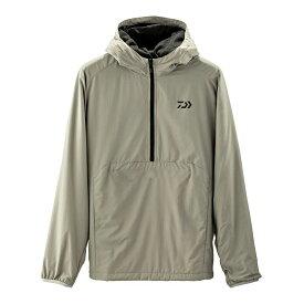 ダイワ(Daiwa) DJ-27009 ウインドブロック ライトハーフジップフーディー グレー L / 防寒ウェア 防寒ジャケット