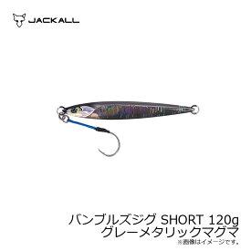 ジャッカル バンブルズジグ SHORT 120g グレーメタリックマグマ 【キャッシュレス5%還元対象】