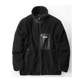 サンライン SUW-6125 ボアジャケット ブラック L / 防寒ウェア 防寒ジャケット