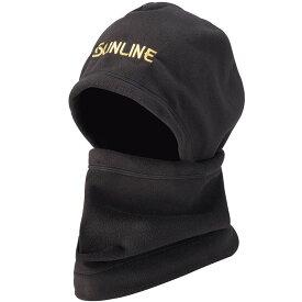 サンライン(Sunline) SUW-0912 フードネックウォーマー ブラック フリー / 釣り 防寒帽子 ネックウォーマー 【キャッシュレス5%還元対象】