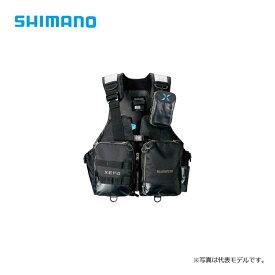 シマノ(Shimano) VF-274R XEFO・アクトゲームベスト ブラック L / シマノ(Shimano) ゲームベスト 釣り 【キャッシュレス5%還元対象】