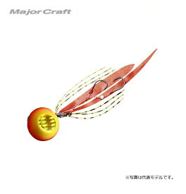 メジャークラフト 鯛乃実 60g ゴールド/オレンジ / タイラバ