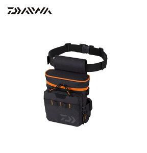 ダイワ(Daiwa) ライトゲームポーチ(A) ブラック/オレンジ / ダイワ(Daiwa) フィッシング ポーチ 【釣具のFTO 10/20(火)は楽天カードでポイント最大8倍】