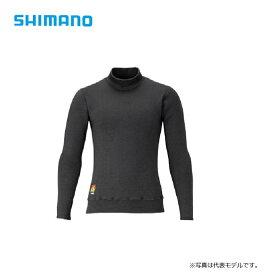 シマノ(Shimano) IN-031R ブレスハイパー+℃ ストレッチハイネック アンダーシャツ (超極厚タイプ) ブラック M / 防寒 アンダーウェア 釣り