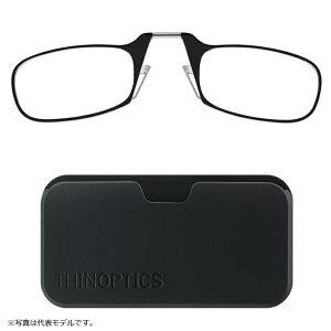 シンオプティクス ThinOptics ポッド 1.6倍 ブラック / 老眼鏡 拡大鏡 ルーペ 携帯型 【釣具 釣り具 お買い物マラソン】